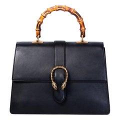 Gucci Dionysus Large Bamboo Top Handle Bag