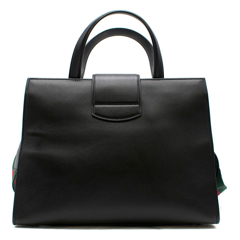 8494cb3d5281 Gucci Dionysus Medium Web-striped leather top-handle bag at 1stdibs