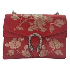 GUCCI Dionysus Shoulder bag in Red Leather