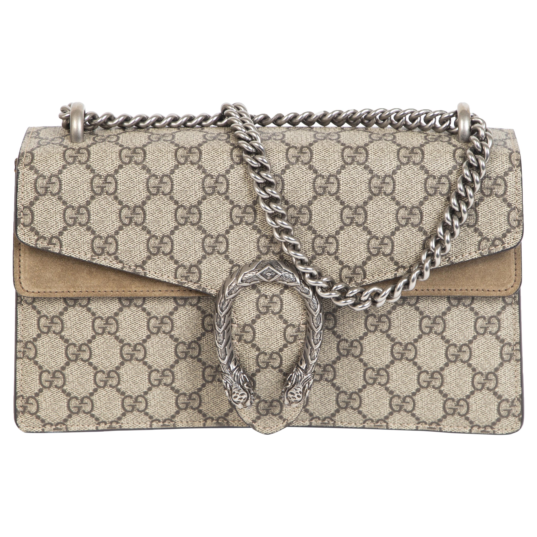Gucci Dionysus Small GG Beige Shoulder Bag