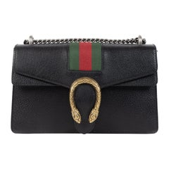 Gucci Diyonisus Web Black Shoulder Bag