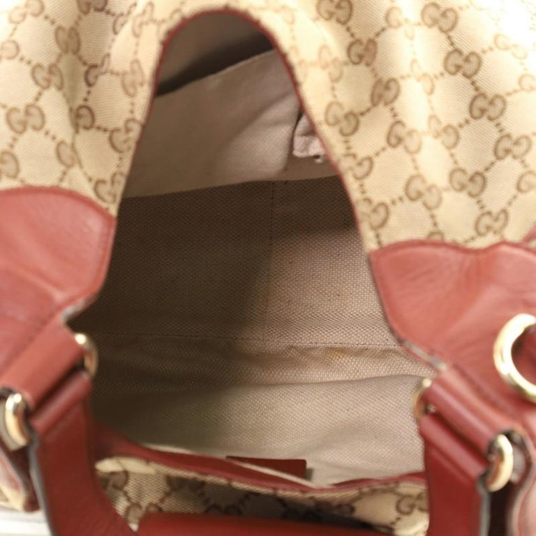Women's or Men's Gucci Dressage Hobo GG Canvas For Sale