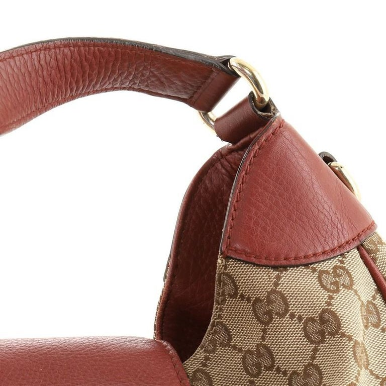 Gucci Dressage Hobo GG Canvas For Sale 2