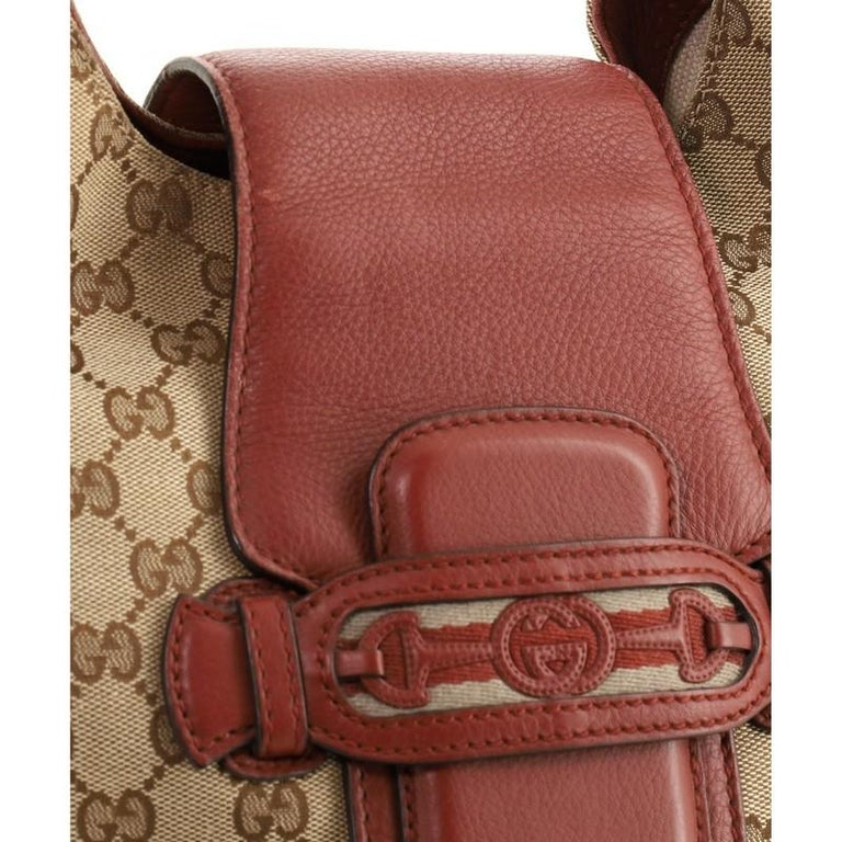 Gucci Dressage Hobo GG Canvas For Sale 3