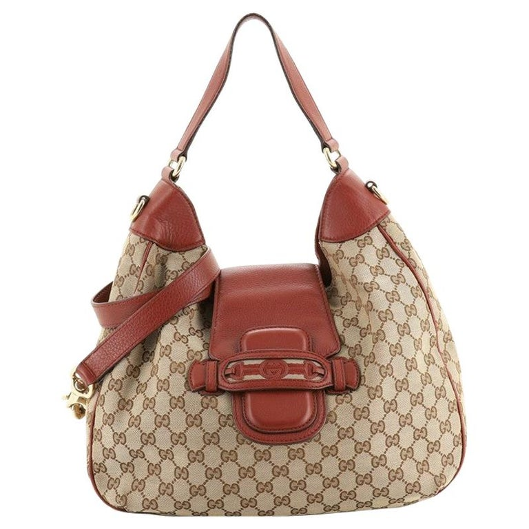 Gucci Dressage Hobo GG Canvas For Sale