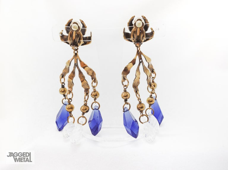 Gucci Earrings Clip On In Excellent Condition For Sale In London, GB