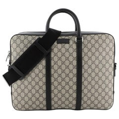 Gucci Eden Briefcase GG Coated Canvas Large