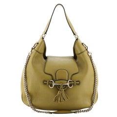 Gucci Emily Hobo Leather Medium