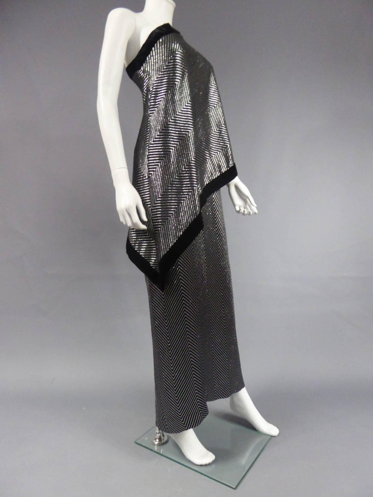 Gucci Evening Dress, Circa 1980 For Sale 8