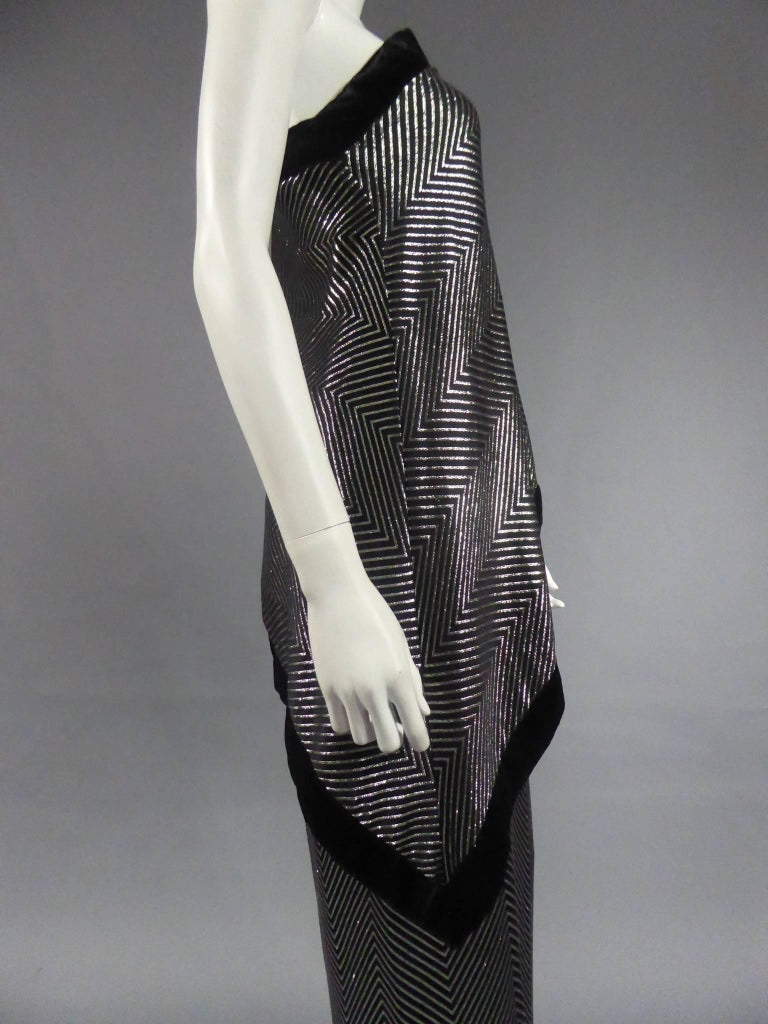 Gucci Evening Dress, Circa 1980 For Sale 9