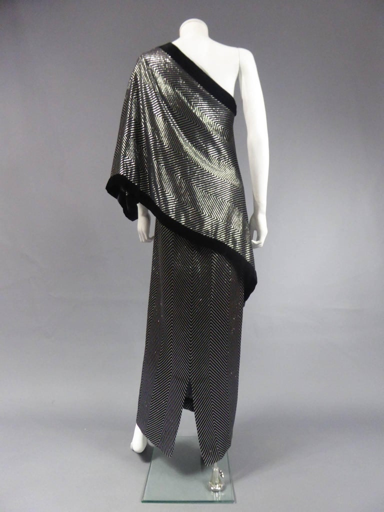 Gucci Evening Dress, Circa 1980 For Sale 10