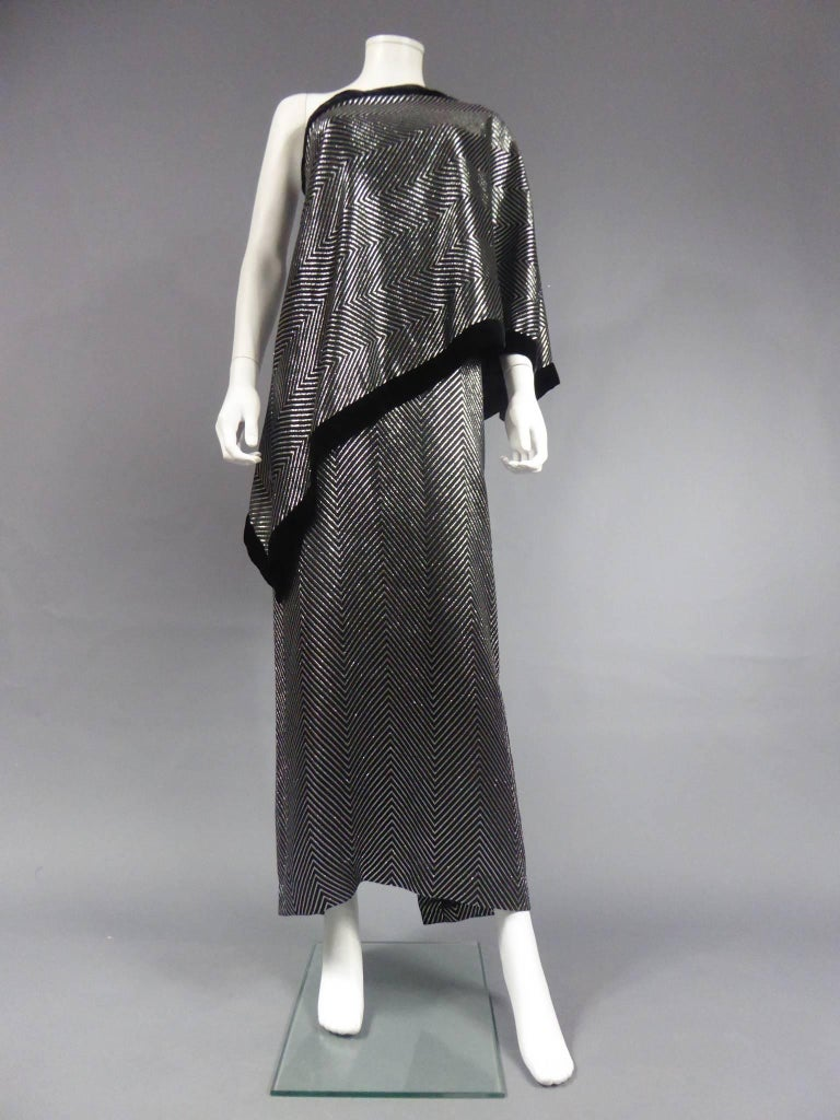 Gucci Evening Dress, Circa 1980 In Excellent Condition For Sale In Toulon, FR