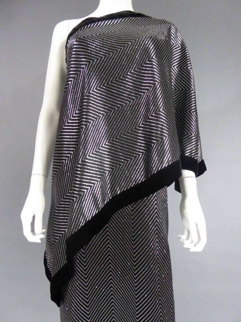 Women's Gucci Evening Dress, Circa 1980 For Sale