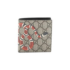 Gucci Flap Card Case Printed GG Coated Canvas