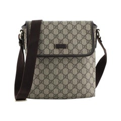 Gucci Flap Messenger GG Coated Canvas Small