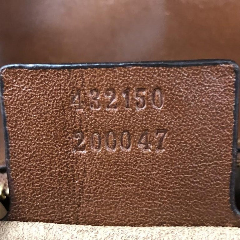 Gucci Flap Saddle Bag GG Coated Canvas Small 4