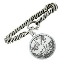 Gucci Flora Silver Bracelet