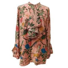 Gucci Floral Silk Shirt IT 44