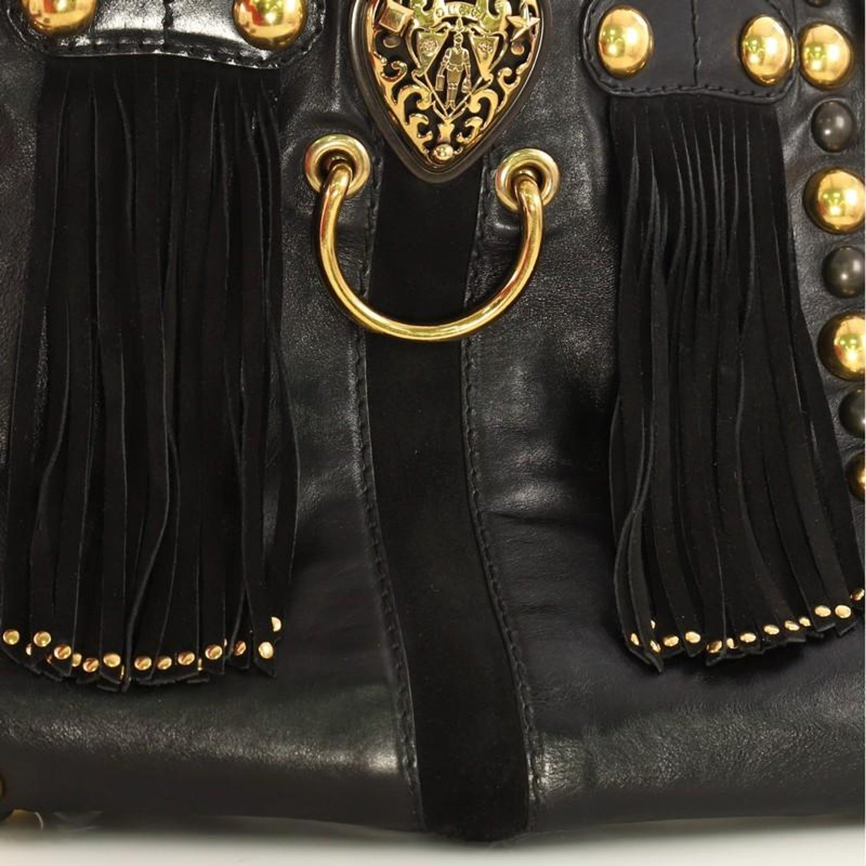 bd21c1a2 Gucci Fringe Babouska Tote Leather Medium at 1stdibs