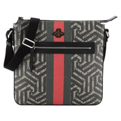 Gucci Front Zip Messenger Caleido Print GG Coated Canvas Medium