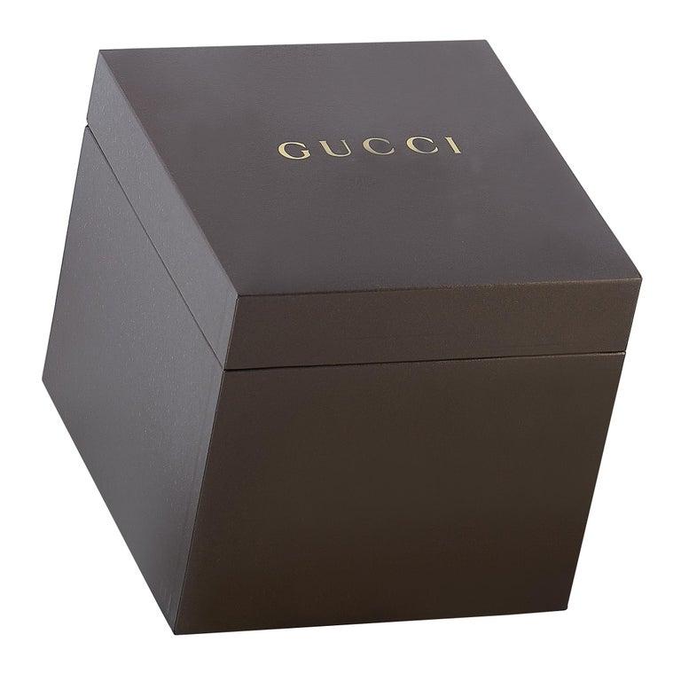 Gucci G-Chrono Black Ceramic Watch YA101352 For Sale 1