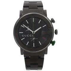 Gucci G-Chrono PVD Coated Steel Black Sticks Dial Quartz Men's Watch YA101331