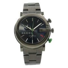 Gucci G-Chrono PVD Stainless Steel Black Sticks Dial Quartz Men's Watch YA101331
