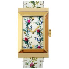 Gucci G-Frame Floral Mother of Pearl Watch YA147407