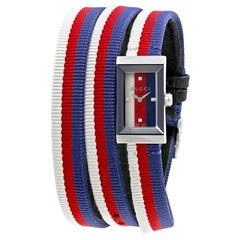 Gucci G-Frame Multicolored Dial Ladies Watch YA147502