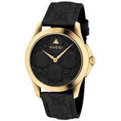 Gucci G-Timeless Black Dial Ladies Watch YA1264034A