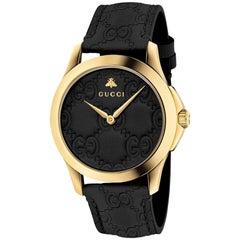 22ec8403bbf Gucci Horsebit Collection Brown Dial Ladies Watch Item No. YA139501 ...