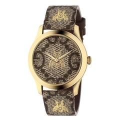 Gucci G-Timeless Gold PVD Watch, YA1264068