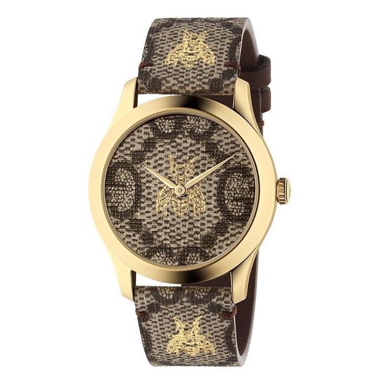 d0ff3df5f63 Gucci G-Timeless Gold PVD Watch
