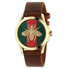 Gucci G-Timeless Honey Bee Watch YA126451A