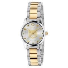 Gucci G-Timeless Ladies Two-Tone Watch YA126596