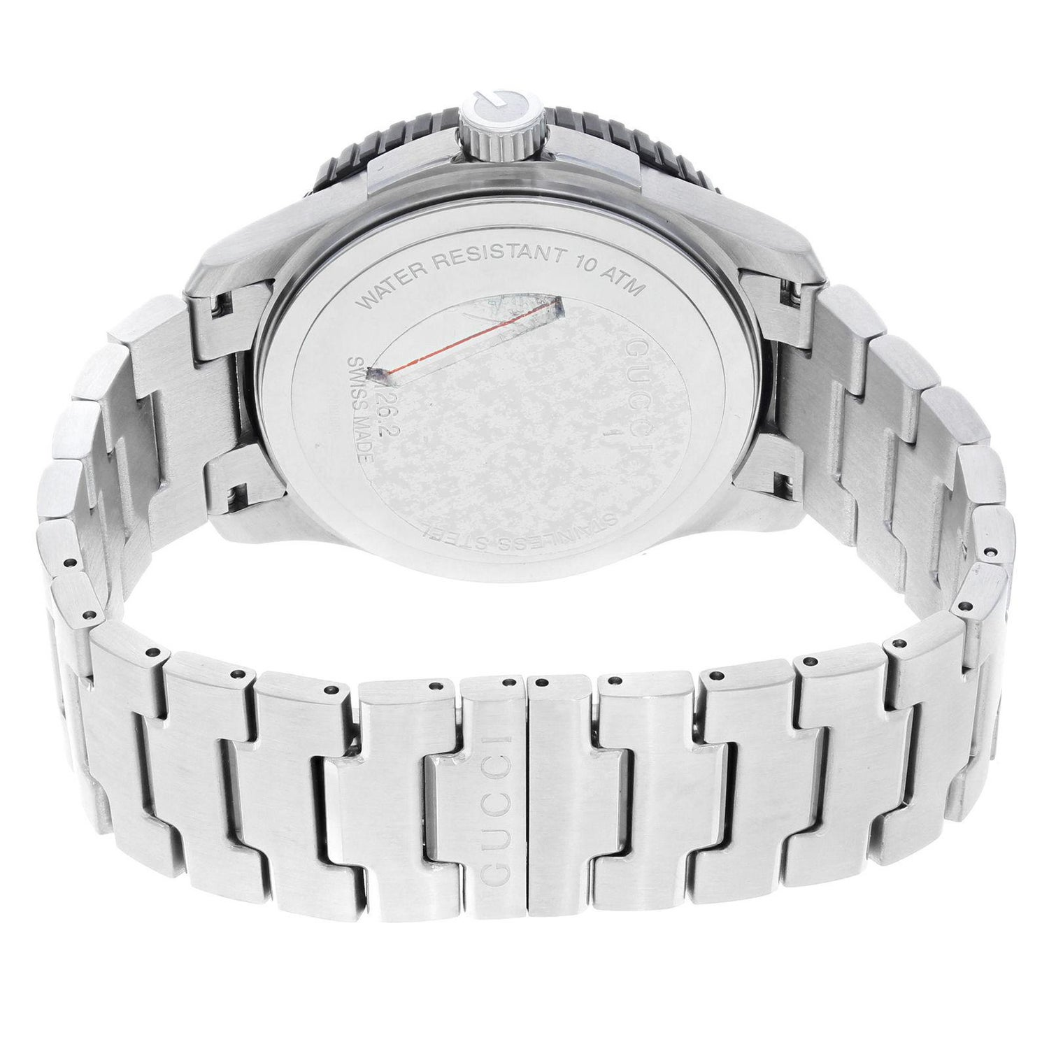 6044594a754 Gucci G-Timeless Sport Steel Plastic Swiss Rotational Quartz Watch YA126250  For Sale at 1stdibs