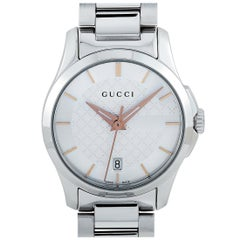 Gucci G-Timeless Stainless Steel Watch YA126523