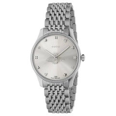 Gucci G-Timeless Steel Silver Dial with Bee Watch YA1264153