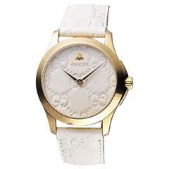 Gucci G-Timeless White Dial Ladies Watch YA1264033A