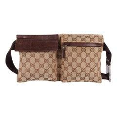Gucci GG Canvas Fanny Pack Belt Bag