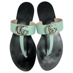 Gucci GG Logo Marmont Sandals - size 39 (UK6)