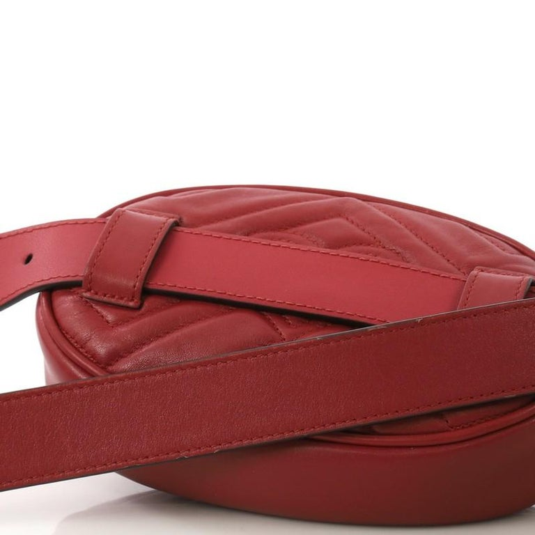 Gucci GG Marmont Belt Bag Matelasse Leather 1