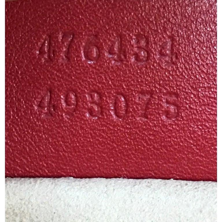 Gucci GG Marmont Belt Bag Matelasse Leather 4
