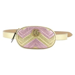 Gucci  GG Marmont Belt Bag Matelasse Leather