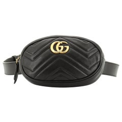 Gucci GG Marmont Belt Bag Matelasse Leather
