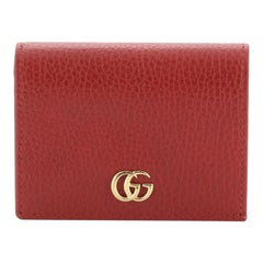 Gucci GG Marmont Card Case Leather