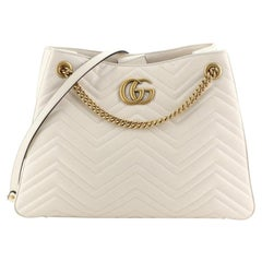 Gucci GG Marmont Chain Shoulder Bag Matelasse Leather