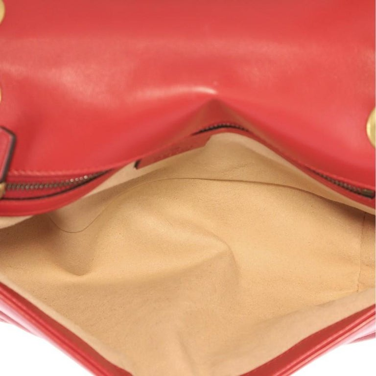 Gucci GG Marmont Flap Bag Matelasse Leather Small 1