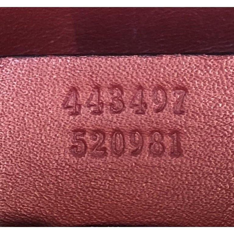 Gucci GG Marmont Flap Bag Matelasse Leather Small 2