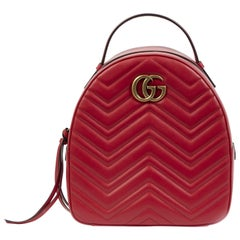 Gucci GG Marmont Matelassé Leather Backpack